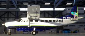 Azul Conecta, PT-MEM and PT-MED Image Flight Simulator 2020
