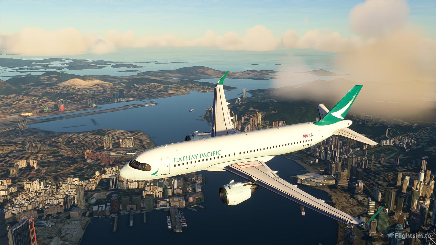 A320neo Cathay Pacific [8K] Flight Simulator 2020
