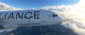[8k] A320 Neo Brussels Airlines - Star Alliance Image Flight Simulator 2020