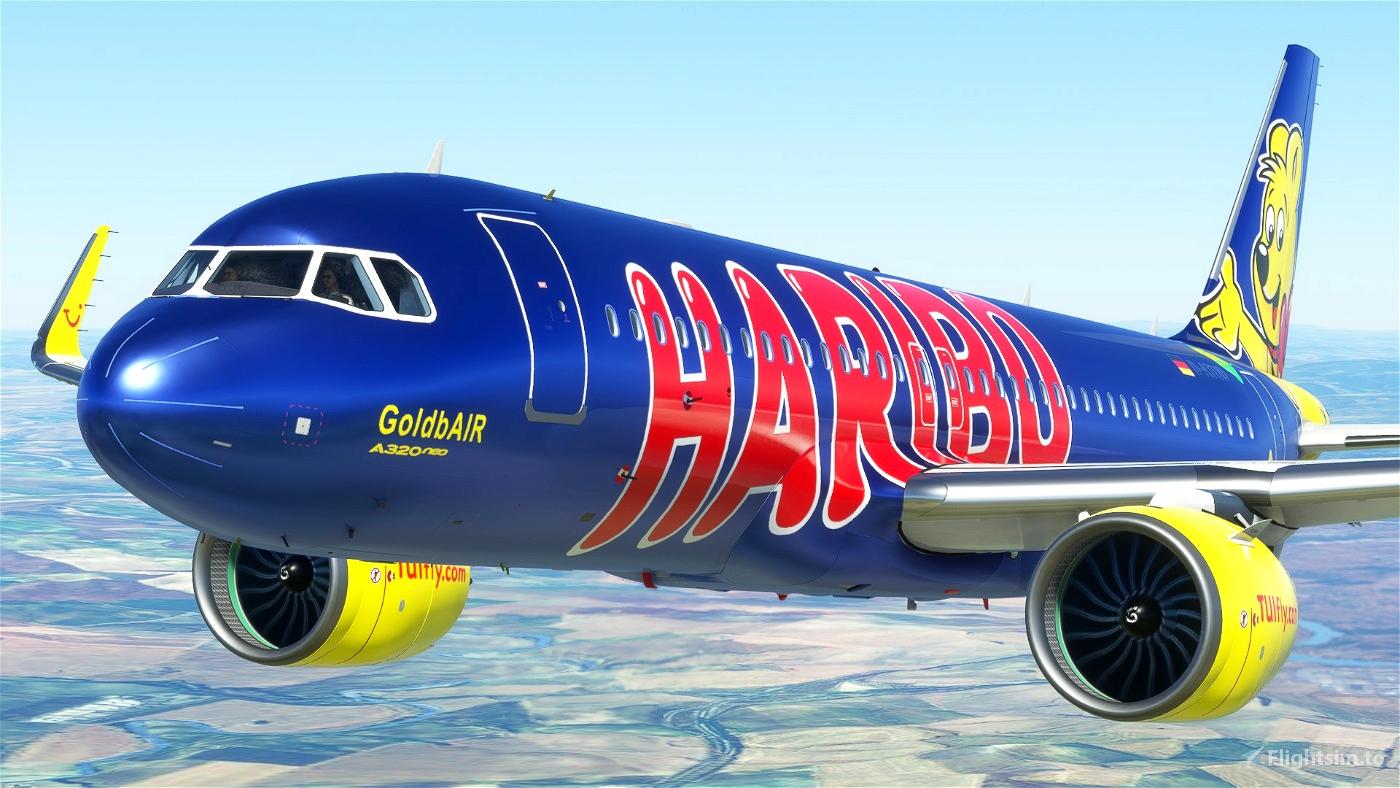 A320 NEO TUI Haribo GoldbAIR (Thomson Airways Limited) Flight Simulator 2020