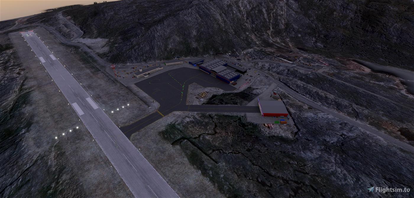 BGGH - Nuuk airport Greenland