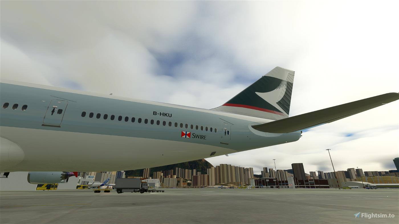 B747-8 Cathay Pacific B-HKU [8K]