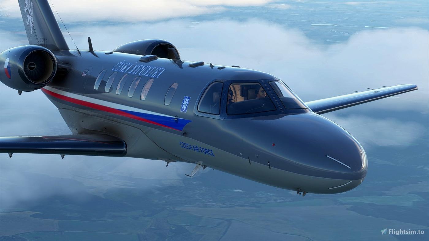 Citation CJ4 Czech Air Force