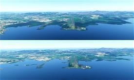 martinique TFFF + water fix Microsoft Flight Simulator