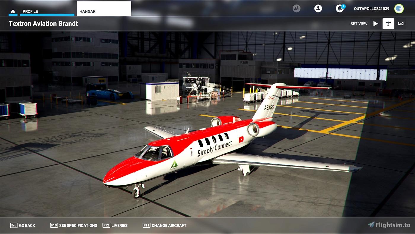 Simply Connect cj4 Flight Simulator 2020