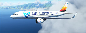 A320neo AIR AUSTRAL PACK 5 Liveries Image Flight Simulator 2020