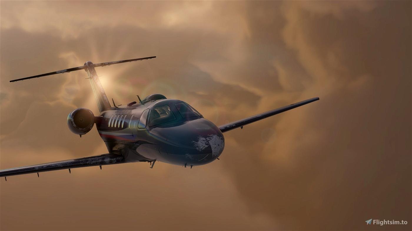 Citation CJ4 Czech Air Force Flight Simulator 2020