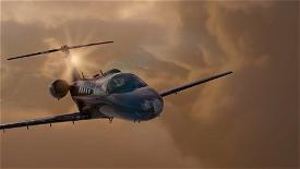 Citation CJ4 Czech Air Force Image Flight Simulator 2020