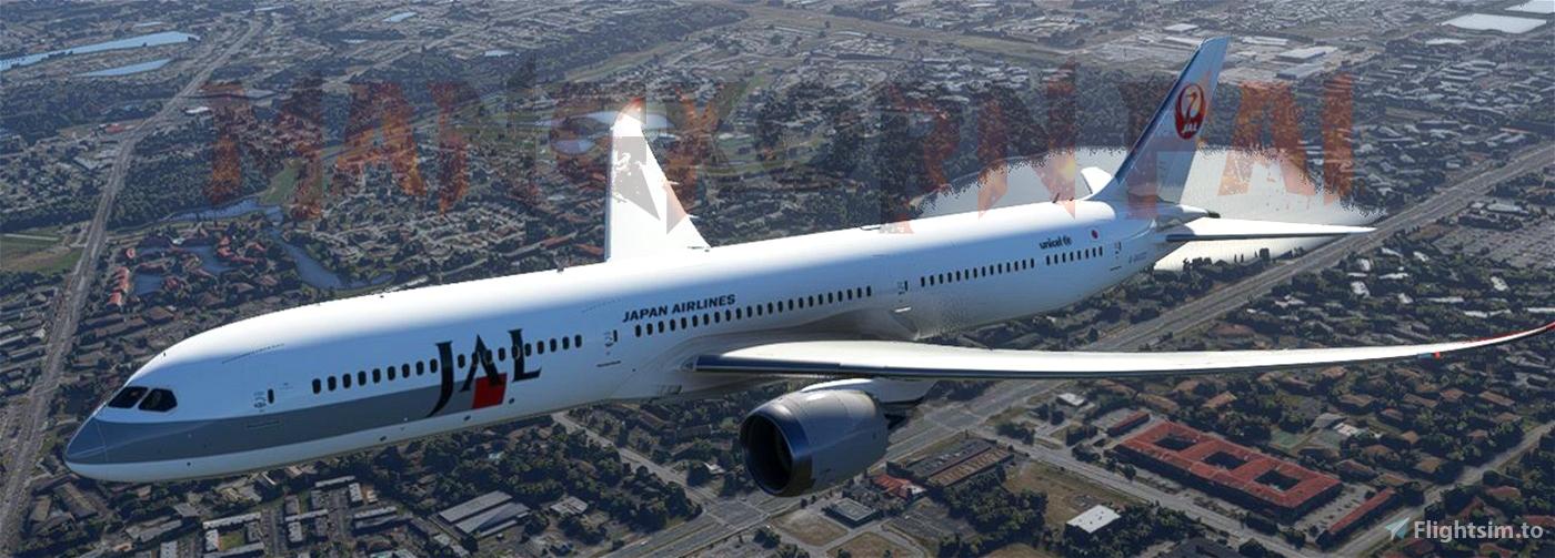 Japan Airlines 1994 - Retro