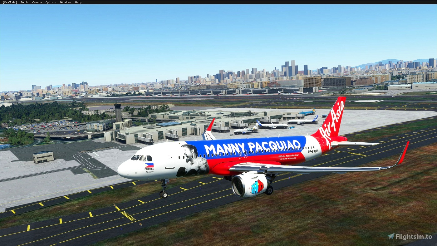 AirAsia Philippines (Pacman livery)8K [RP-C8988] Flight Simulator 2020
