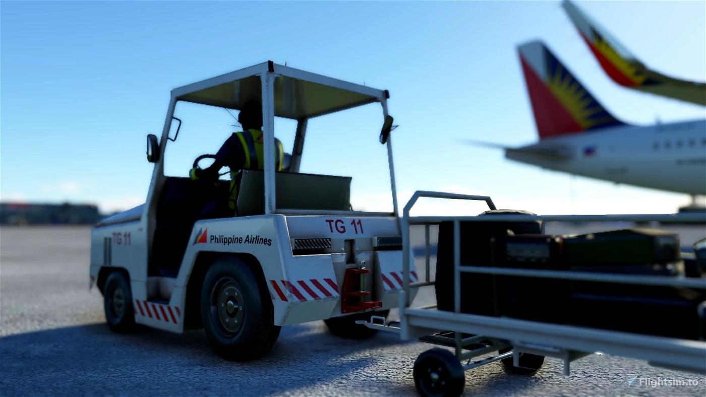 Philippine Airlines Ground Services Mod Flight Simulator 2020