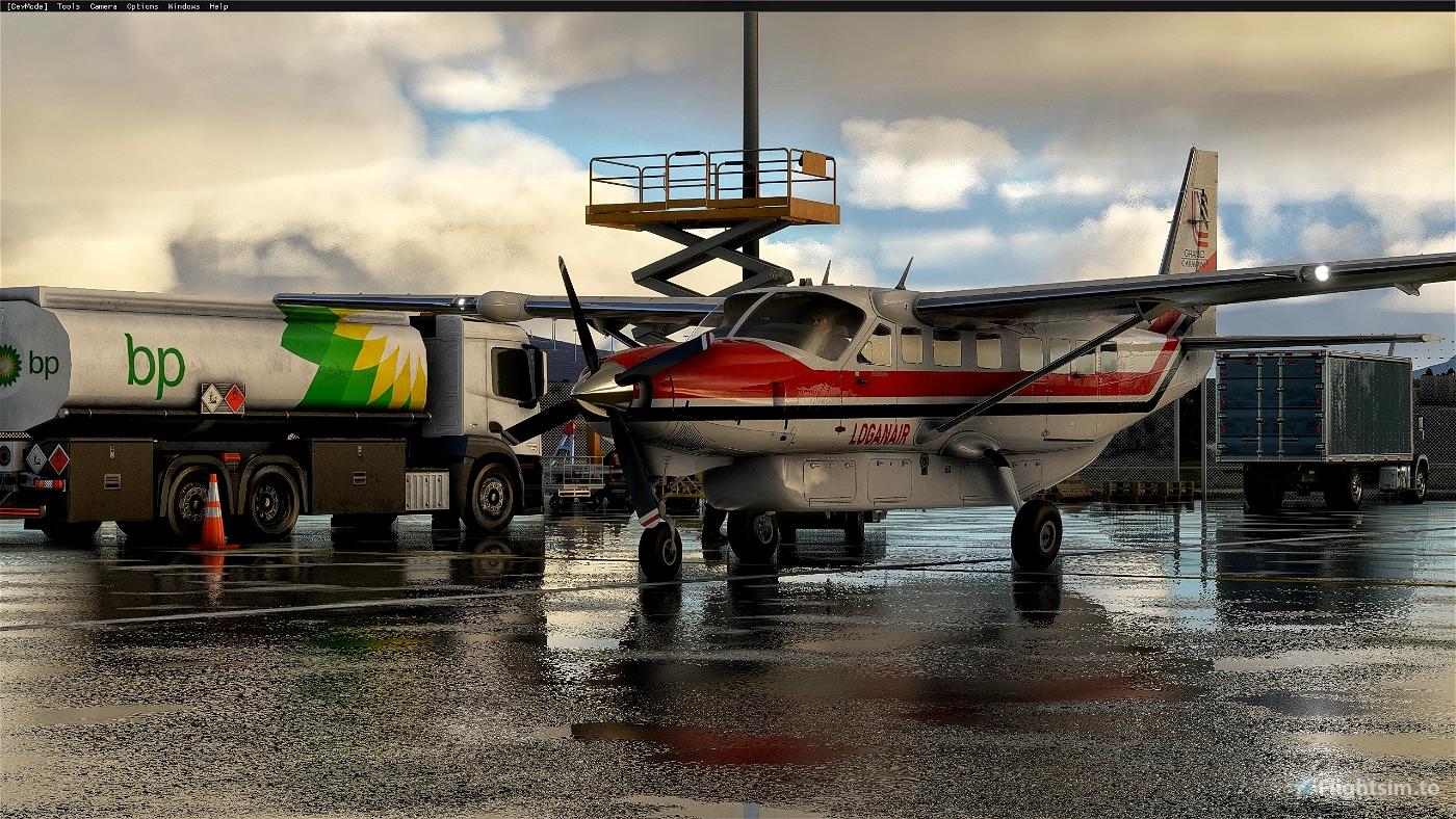 Cessna 208B Grand Caravan LoganAir 1980s Flight Simulator 2020
