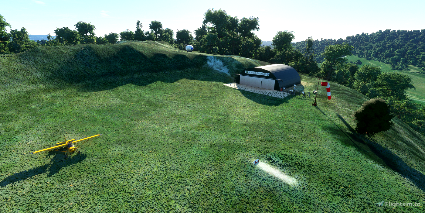 Altiport de Corlier LFJD Microsoft Flight Simulator