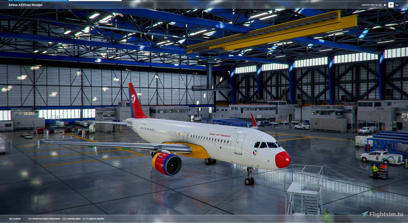Danish Air Transport Flight Simulator 2020