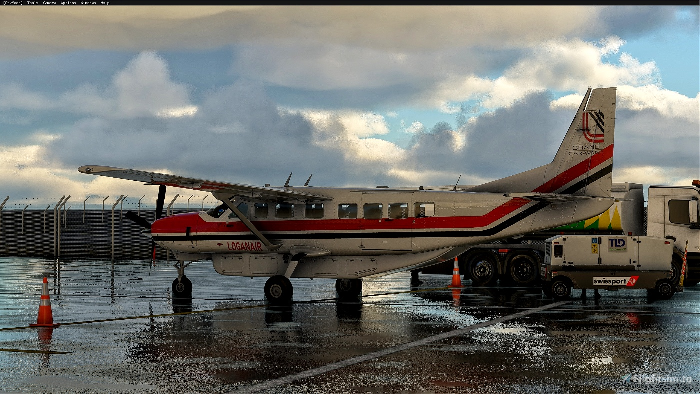Cessna 208B Grand Caravan LoganAir 1980s