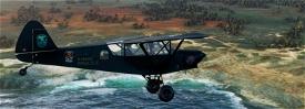 Savage Cub N168MK Mokulele Hawaii v2.0 (compatible 1.12.13.0) Image Flight Simulator 2020