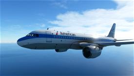 A320 - American Piedmont Heritage [8K ULTRA] Image Flight Simulator 2020