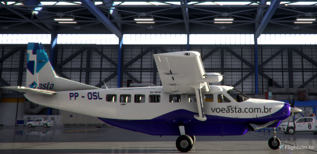 Asta Linhas Aéreas PP-OSL C208B Flight Simulator 2020