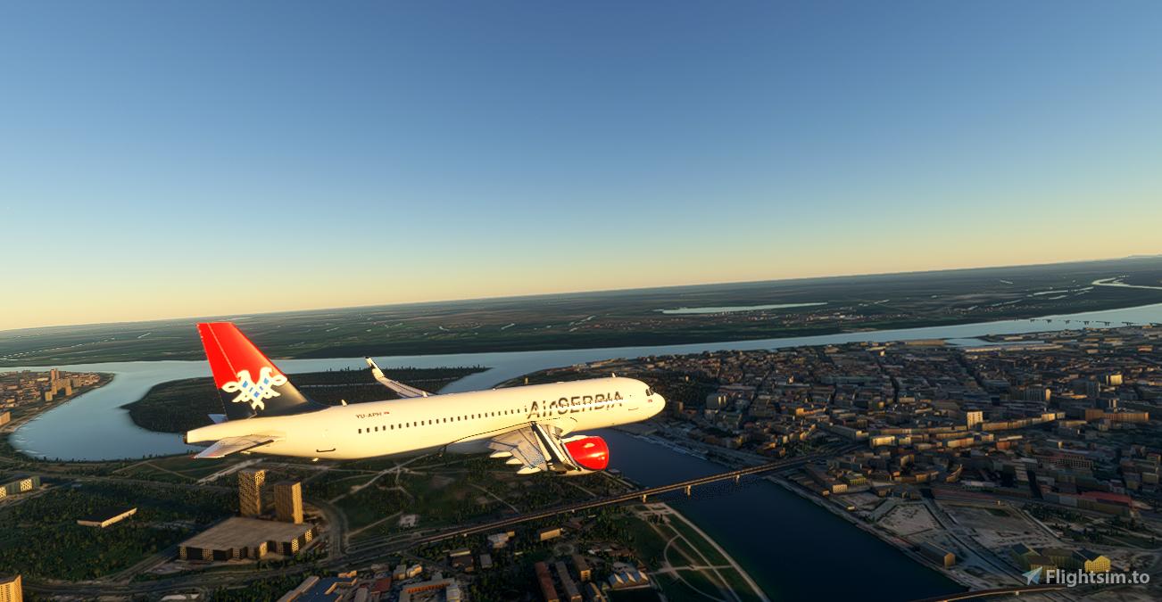 Airbus A320neo Air Serbia