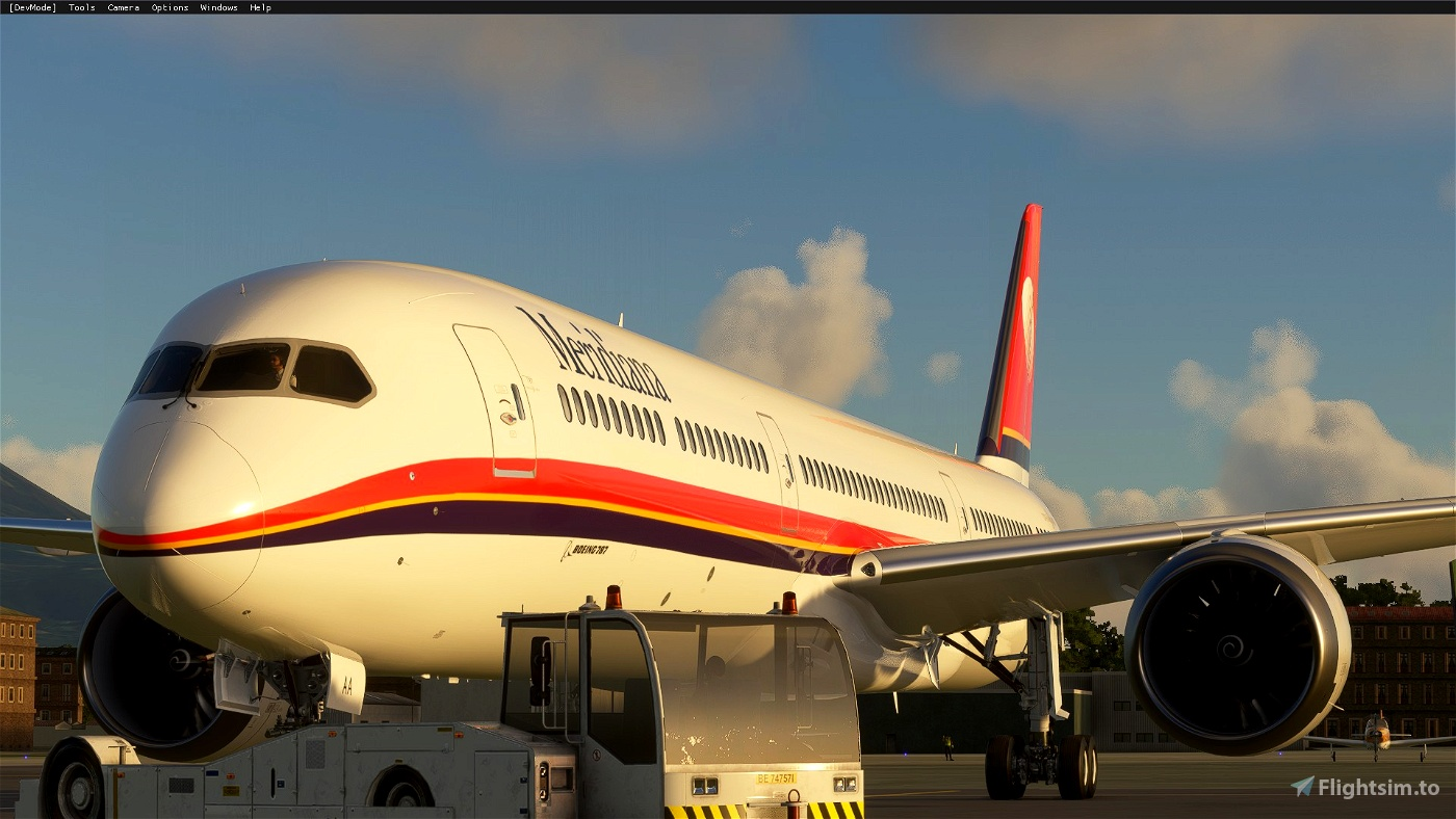 Boeing 787-10 Meridiana Flight Simulator 2020