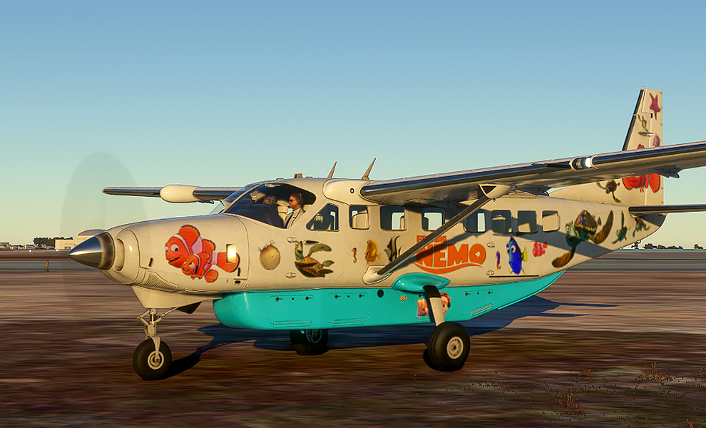 Finding Nemo Express Flight Simulator 2020