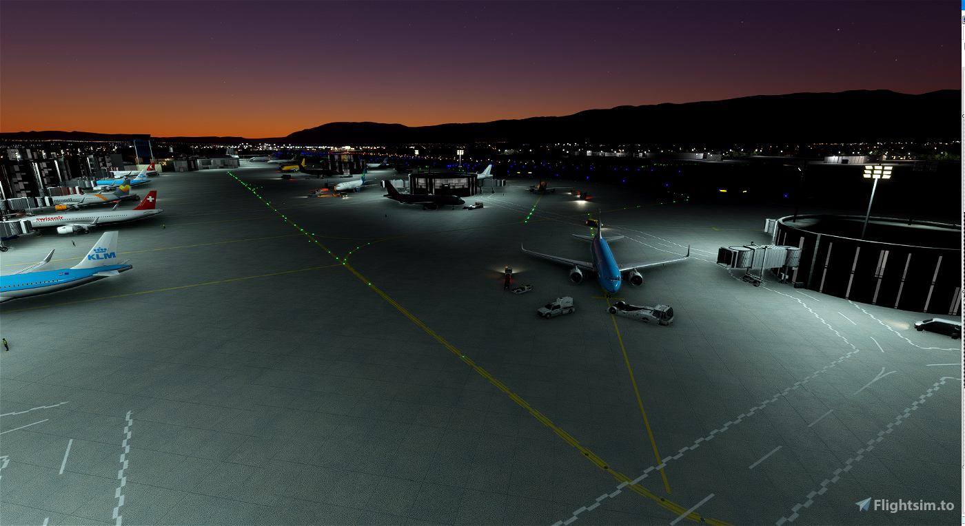 Geneva LSGG Airport (Basic)