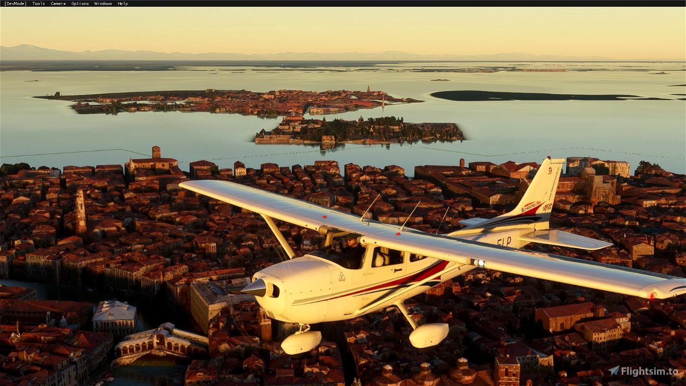 Cessna 172sp OK-ELP Elmontex Air (both versions)  Flight Simulator 2020