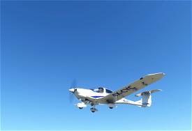 Diamond DA-40 TDI - 4X-CYC Image Flight Simulator 2020