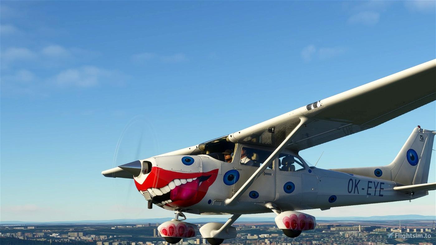 Cessna 172sp  OK-EYE Alpha Aviation (both versions) Flight Simulator 2020