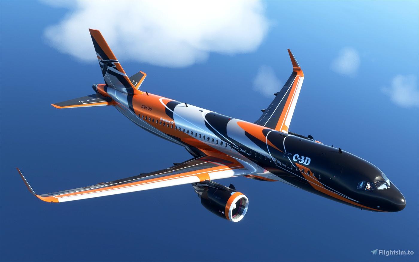 A320NEO C-3D Flight Simulator 2020