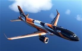 A320NEO C-3D Image Flight Simulator 2020