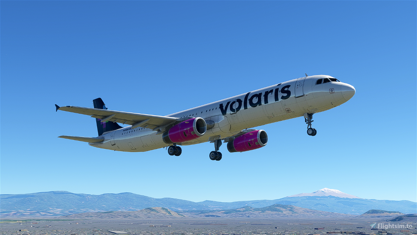 [4K] Volaris A321 livery Flight Simulator 2020