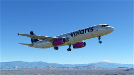 [4K] Volaris A321 livery Image Flight Simulator 2020