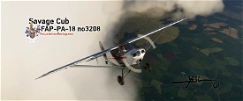 FAP PA-18 no3208 Image Flight Simulator 2020