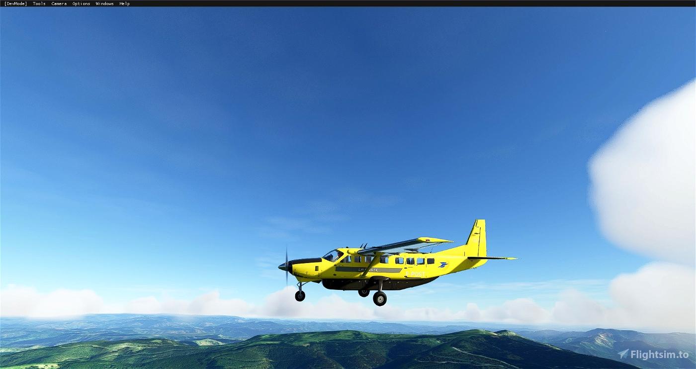 C208B La Poste (4K) Flight Simulator 2020