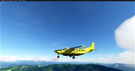 C208B La Poste (4K) Image Flight Simulator 2020