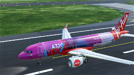 AirAsia NEO Image Flight Simulator 2020