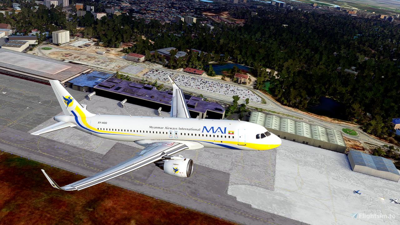 Myanmar Airways International [4K]
