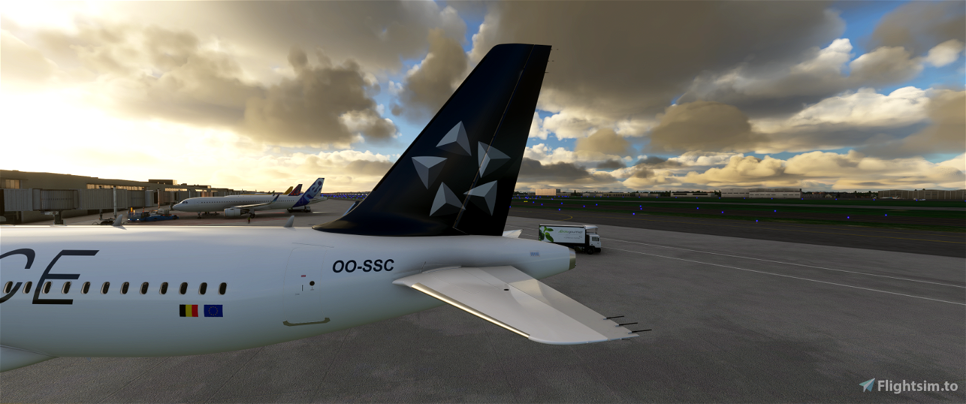 [8k] A320 Neo Brussels Airlines - Star Alliance