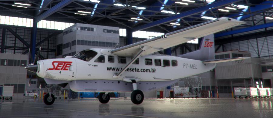Sete Taxi Aéreo, PT-MEL
