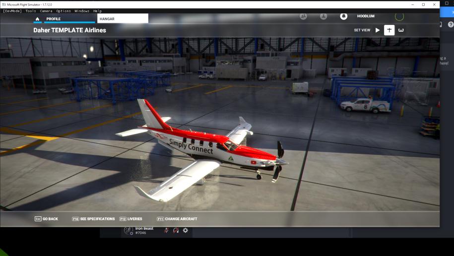 Simply Connect TBM Flight Simulator 2020