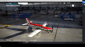 Simply Connect TBM Image Flight Simulator 2020