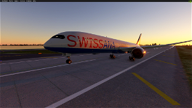 787-10 Dreamliner Swiss ANA (8K Livery) Image Flight Simulator 2020