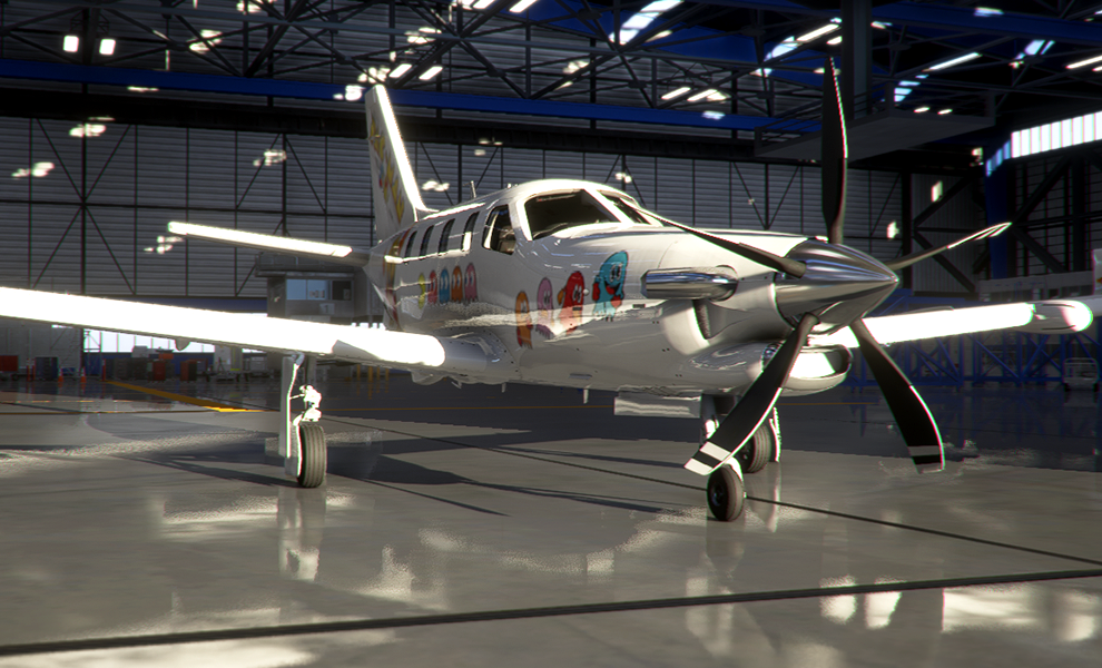 TBM930 Pacman Flight Simulator 2020