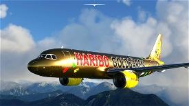 A320 NEO TUI Haribo HaribAIR (Thomson Airways Limited) Image Flight Simulator 2020