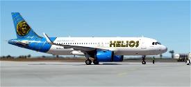 A320neo Helios Airways Image Flight Simulator 2020
