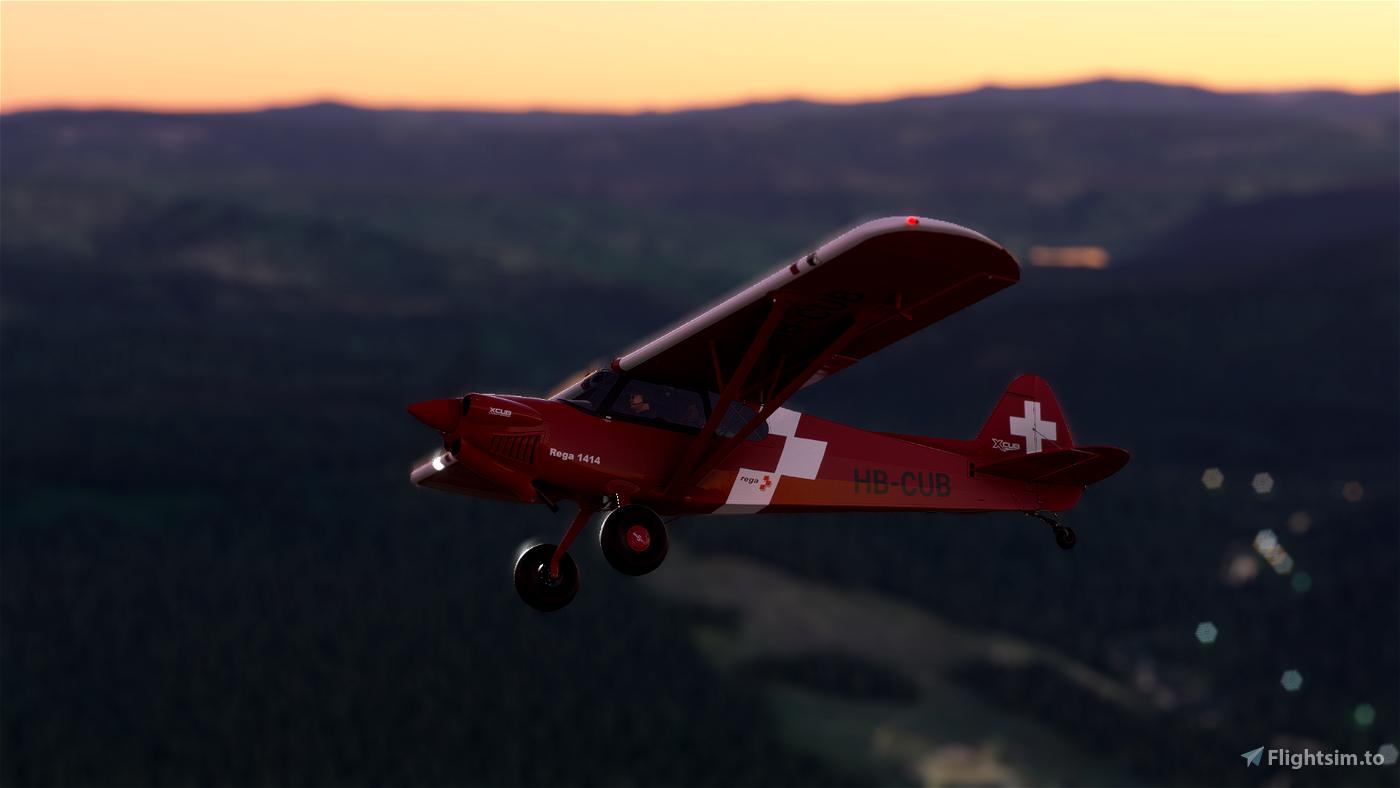 X-Cub Rega Swiss Air Rescue