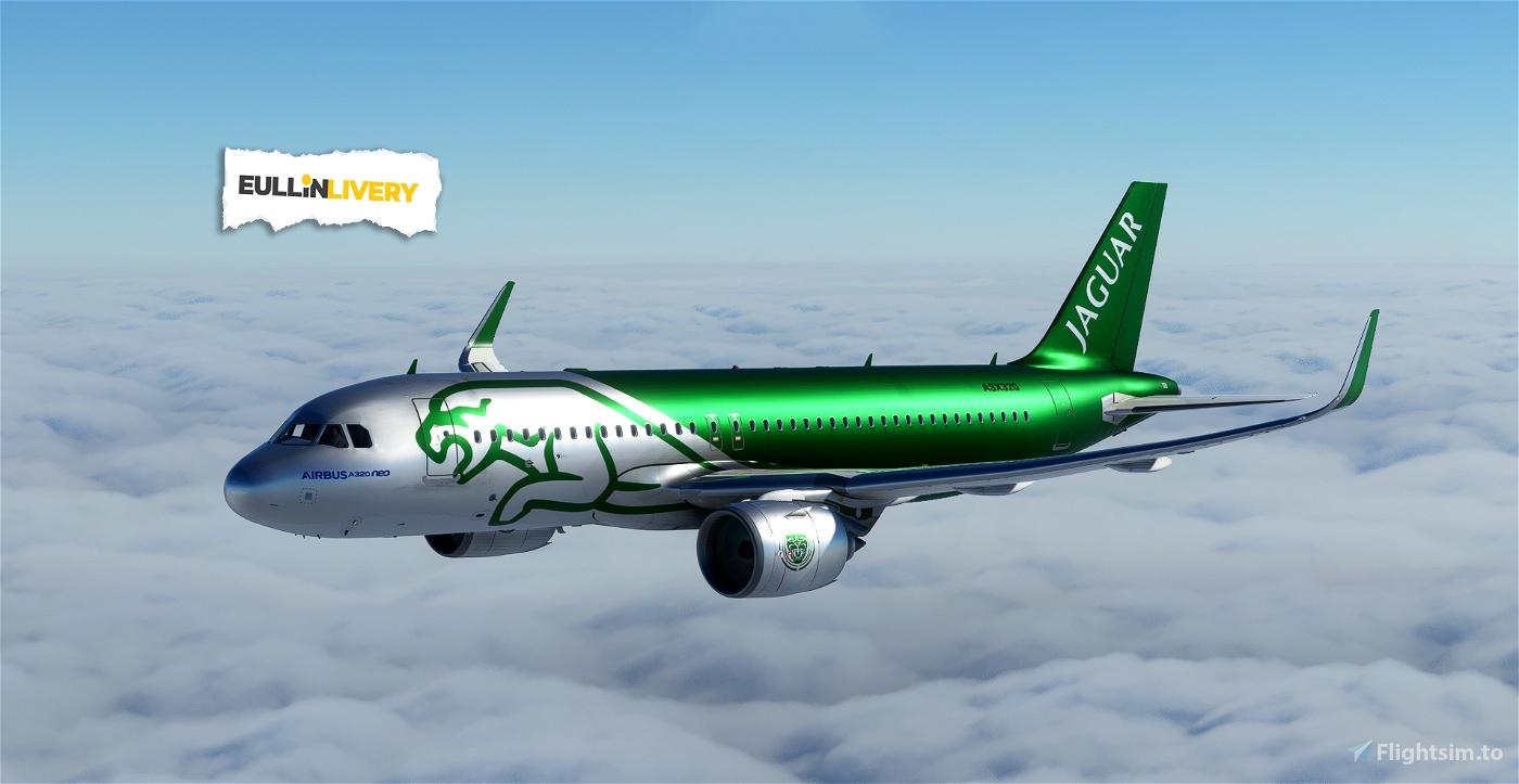 A320 neo Dirt - JAGUAR Flight Simulator 2020
