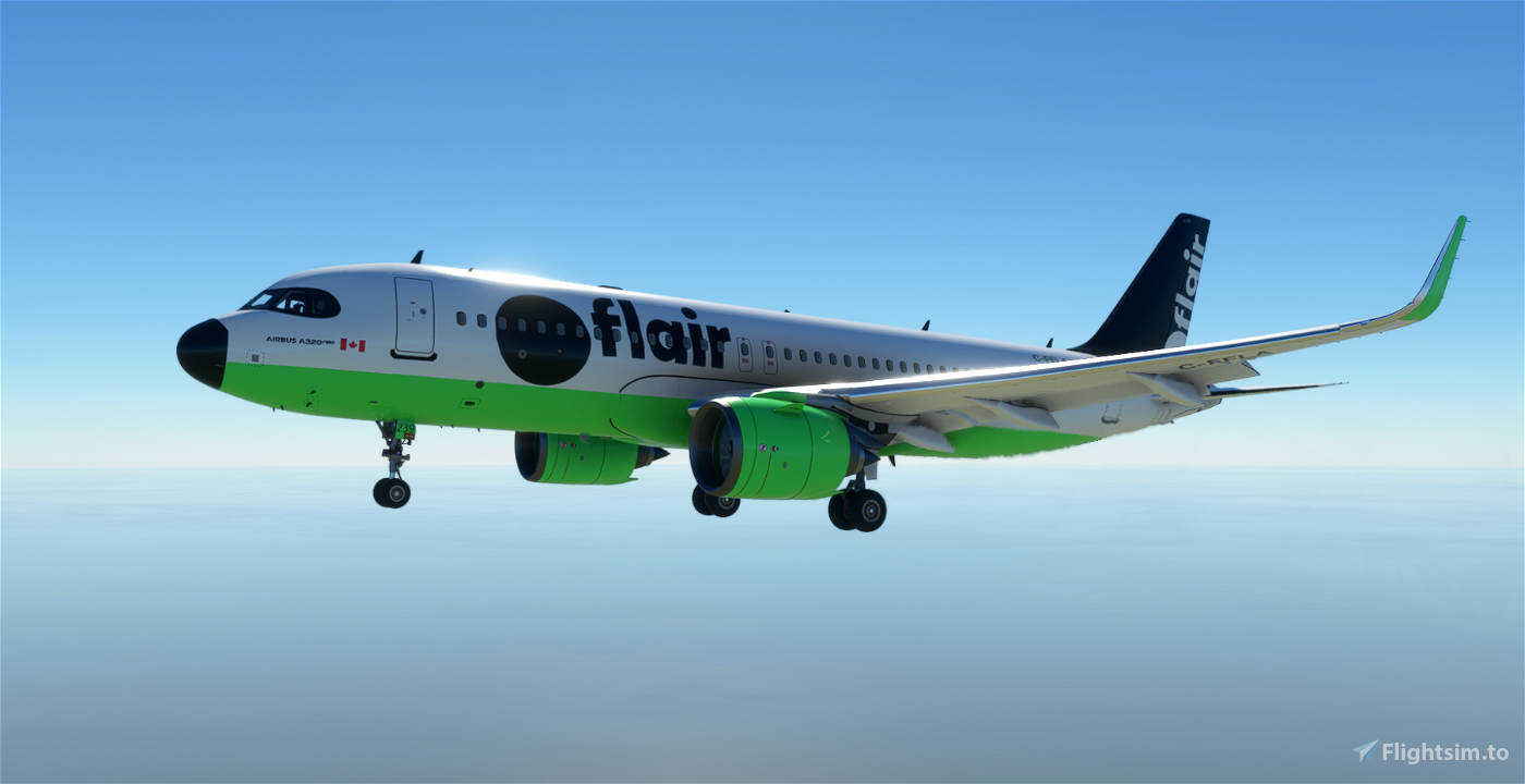A320Neo Flair Airlines -8K Flight Simulator 2020