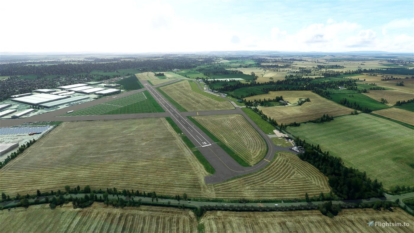 Wellesbourne Mountford RWY18 Landing Challenge